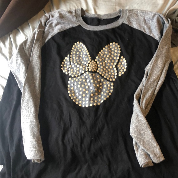 Disney Tops - DISNEY MINNIE BASEBALL T-SHIRT